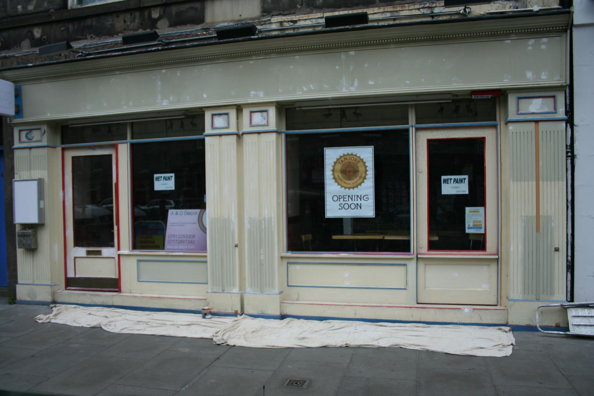 Tanjore South Indian Restaurant Edinburgh