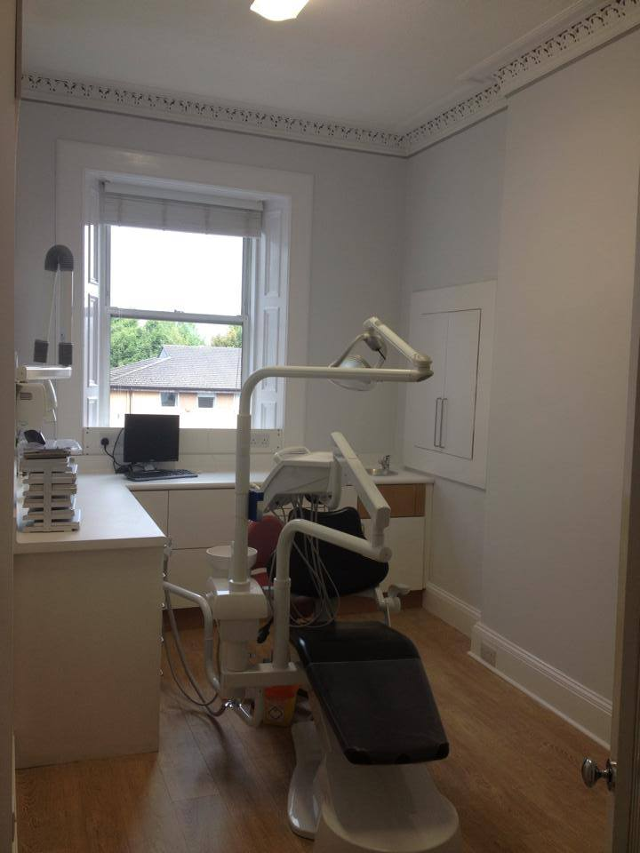 Ardmillan Dental Practice Painting (1)