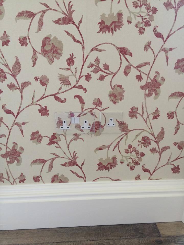 paper hanging largo 3   a amp d decor edinburgh painters